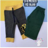 Kit calças - 3 a 6 meses - Sem marca