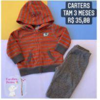 Conjunto Carters - 3 meses - Carter`s