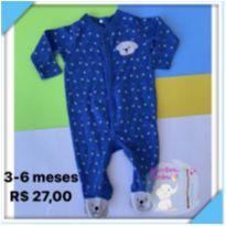 Macacão dog - 3 a 6 meses - Baby Club