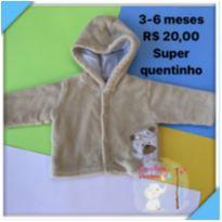 Casaco Bege - 3 a 6 meses - Baby Classic