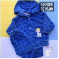 Conjunto azul cachorrinho - 3 meses - Sem marca