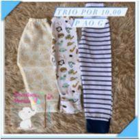 Kit calças - 6 meses - Sem marca
