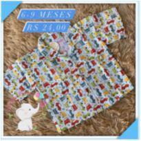 Camisa Teddy boom - 6 a 9 meses - Teddy Boom