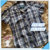 Camisa social - 10 anos - Figurinha