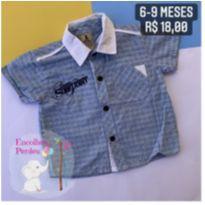Camisa social - 6 meses - Pupi