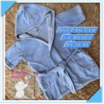 Roupao - 3 a 6 meses - Lene Baby