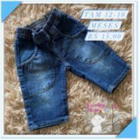 Bermuda jeans - 12 a 18 meses - Marisol