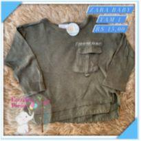 Blusa frio - 1 ano - Zara Baby