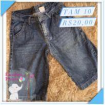 Bermuda jeans - 10 anos - Look jeans