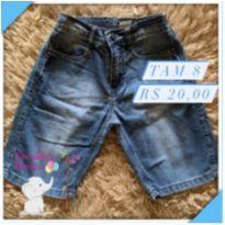 Bermuda jeans - 8 anos - Alakazoo!
