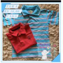 Kit blusa - 8 anos - Sem marca