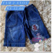 Bermuda jeans - 2 anos - Sem marca