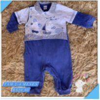 Macacão bebe - 3 meses - Sonho Mágico