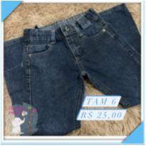 Calça jeans - 6 anos - Via Onix