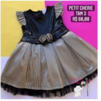 Vestido Festa - 3 anos - Petit Cherie