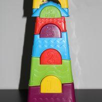 Brinquedo de empilhar castelinho -  - Calesita