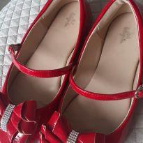 Sapato couro vinil Luluzinha - 34 - Luluzinha