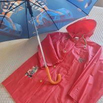 Kit capa de chuva Cars + Sombrinha Hot wheels -  - Disney e Hot Wheels