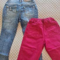 Calca Jeans Anime e Calça sarja Mini Bambini - 8 anos - Animê e Mini Bambini