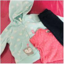 Conjunto 3 peças Child of Mine - Carters - 0 a 3 meses - Carter`s