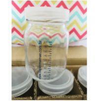 Vidros para armazenar leite materno -  - Sem marca