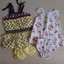 Lindos vestidos - 3 a 6 meses - Não informada e Tip Top