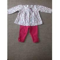 conjunto joaninha - 6 a 9 meses - Tilly Baby