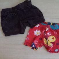 lotinho shorts - 1 ano - Não informada