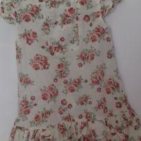 Vestido florido - 2 anos - Não informada