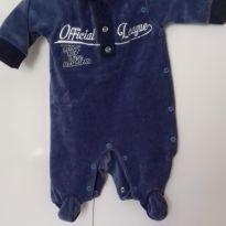 Macacão azul jeans - Recém Nascido - Não informada