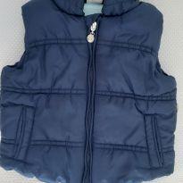 Colete azul - 6 a 9 meses - Teddy Boom