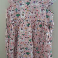Vestido lhama - 3 anos - Bebe coala