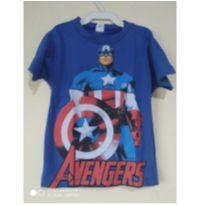 Camiseta do Capitão América - 3 anos - Glad Baby