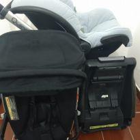 Carrinho de bebê - Sem faixa etaria - Quinny zap e bebe conforto maxi cosi