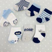 Kit meias importadas - 0 a 3 meses - Importada
