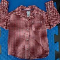 Camisa Social Carters - Primavera - 3 anos - Carter`s