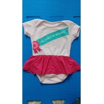 Body Miss Universo - 3 a 6 meses - Basic + Baby