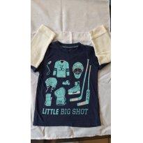 Camiseta Hockey - Carter`s - 2 anos - Carter`s