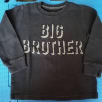 Camiseta BIG BROTHER - 3 anos - Carter`s