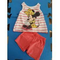 Conjunto Minie Verão (importado) - 18 a 24 meses - Disney