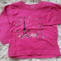 Camiseta Paris - S &A Baby - 18 a 24 meses - Não informada