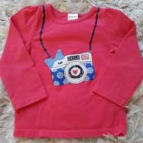Camiseta Fotógrafa - 12 a 18 meses - Gymboree