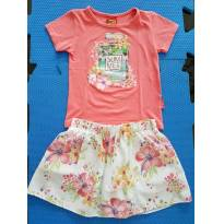 Conjunto Floral - KYLY - 3 anos - Kyly
