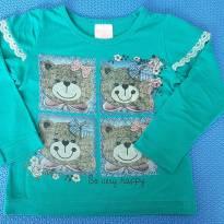 Blusa da Ursa - Nanda Bella - 12 a 18 meses - Não informada