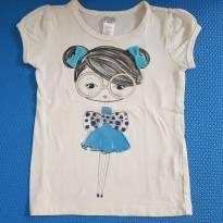 Camiseta da Menina - BEAUTEES - 2 anos - Importada
