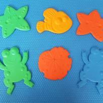 Mini Tapete Antiderrapante com 6 peças -  - KUKA