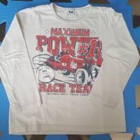Camiseta Carro de Corrida - 4 anos - T & k