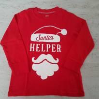 Camiseta Natal Ajudante do papai Noel - 2 anos - Carter`s