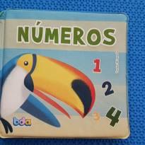 Livro de Banho Números e Pássaros -  - Bda
