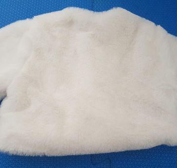 Bolero Pele Branco - 12 a 18 meses - Artesanal